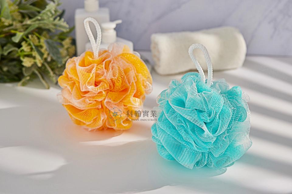 Double-layer Net Bath Sponge-1