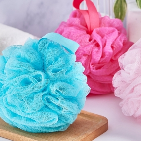 Double-layer Exfoliating Bath Sponge