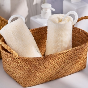 Imitation Loofah Bath Towel K-021