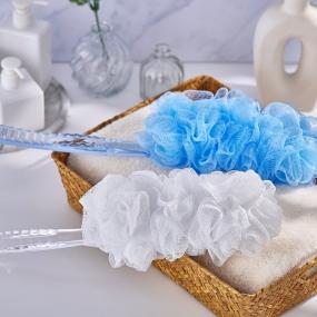 Wave Handle Bath Brush K-016 LS